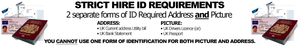 Hire ID requirements