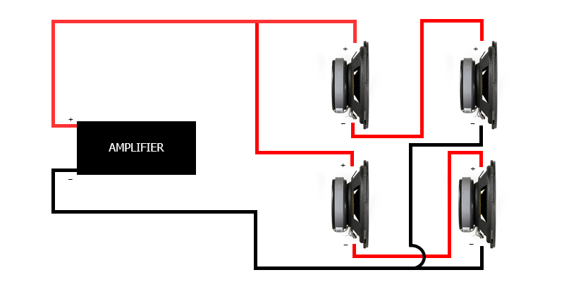 low impedance speaker system install diagram