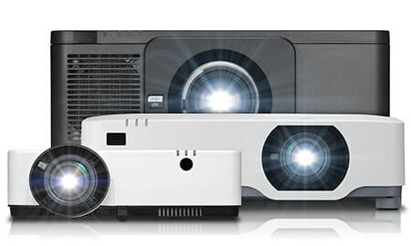 AV hire projectors