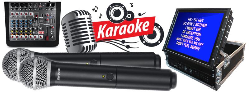Karaoke edinburgh range of products