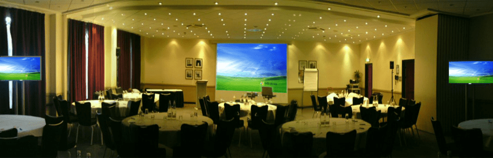sound and lighting hire Edinburgh event example