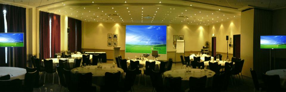sound and lighting hire Edinburgh event example