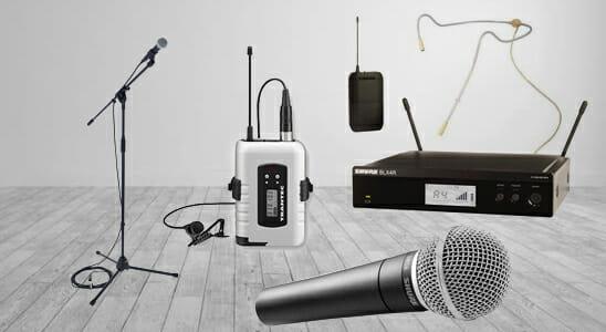 microphone hire edinburgh
