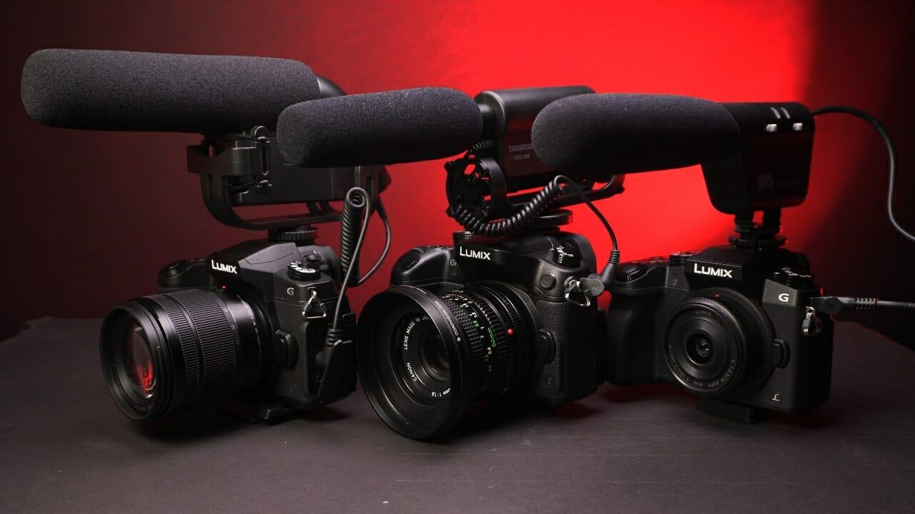 Camera-mics