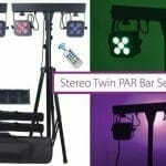 qtx twin par bar set